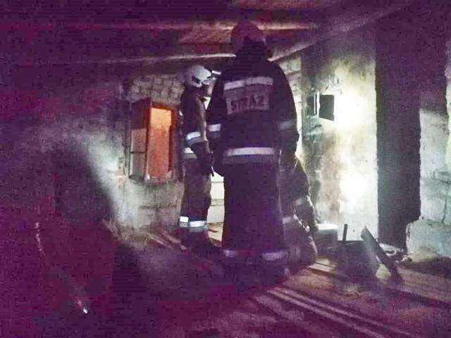 We wtorek, 5 stycznia 2021 r., w budynku przy ul. Żeromskiego w Prabutach doszło do pożaru sadzy