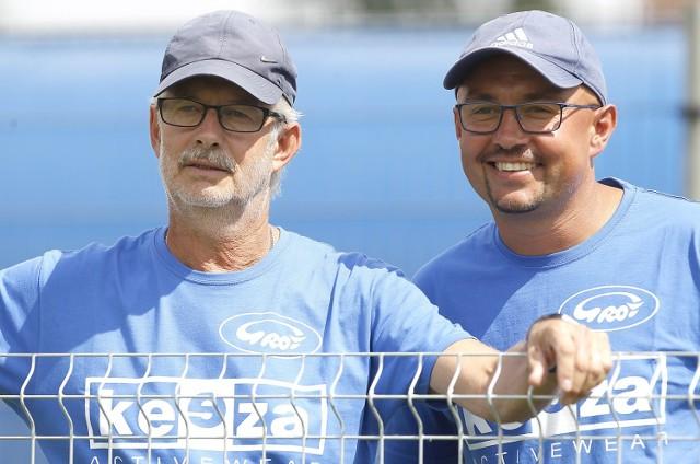 Na początku meczu trenerzy Mirosław Dawidowski i Marcin Perliński mogli być zadowoleni
