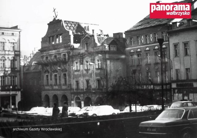 Tak prezentowało się Śródmieście Wałbrzycha na przełomie lat 80. i 90. XX w.