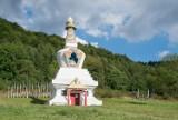 Gompa Drophan Ling w Darnkowie niedaleko Kudowy-Zdroju. Jedyny taki obiekt w Polsce