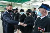 Maków Podhalański Dolny. Prezydent RP Andrzej Duda w remizie OSP. Przyjechał bez żony. Prezydentowa kontuzjowana [ZDJĘCIA] [AKTUALIZACJA]