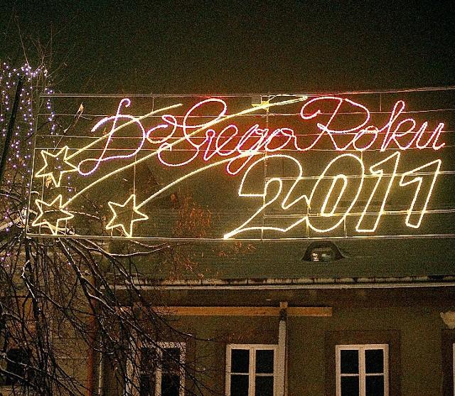 Sylwester na rynku w Bochni rozpocznie się dzisiaj o godz. 23.30