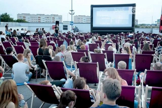 Kino na leżakach w Szczecinie