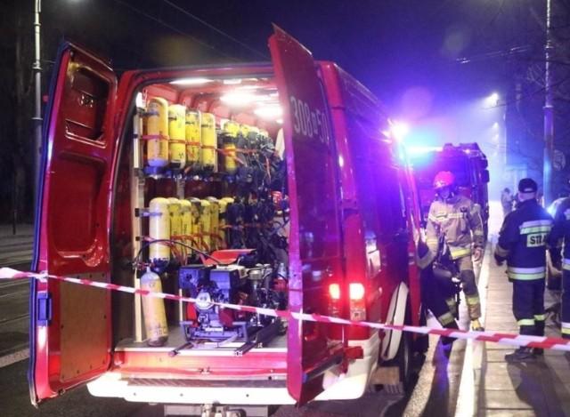 W tragicznym pożarze zginął niepełnosprawny mężczyzna