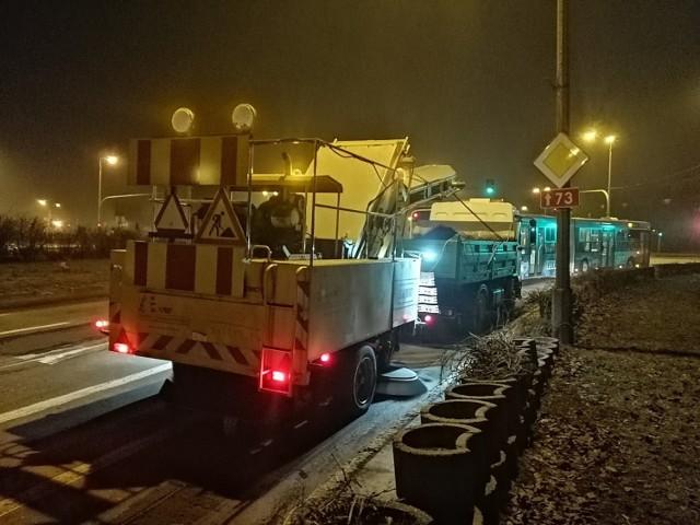 Zamiatarki na ulicach pojawią w poniedziałek około  godziny 21. Rozpoczną pracę od ulicy Tarnowskiej.