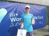 Tenisista ze Szczecinka wygrał prestiżowy turniej w Puszczykowie [zdjęcia]