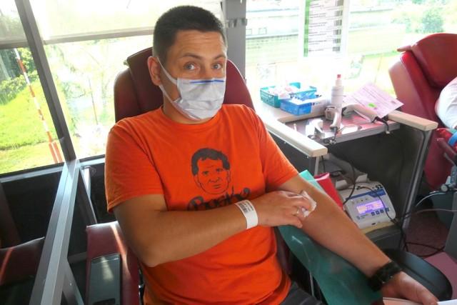 Podczas akcji w Straszewie zarejestrowało się aż 46 krwiodawców.