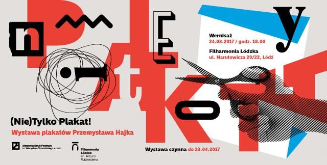 Wystawa plakatów Przemysława Hajka