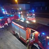 Poranny pożar w skwierzyńskim ,,Pekinie''. Alarm zmroził strażaków