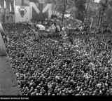 Chrzest Polski 14 kwietnia - tak wyglądały obchody Tysiąclecia we Włocławku [archiwalne zdjęcia]