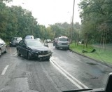 Zderzenie bmw z toyotą na ulicy Lipnowskiej we Włocławku [zdjęcia]