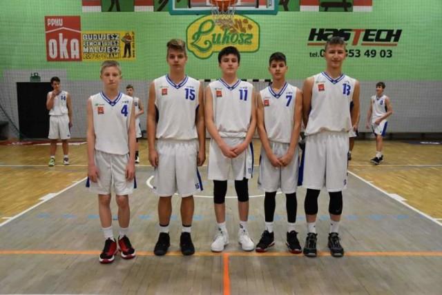 Na zdjęciu od lewej: Paweł Maciejewski, Seweryn Nowak, Milan Kaczorek, Filip Chlebiej, Maciej Skrok-Wolski