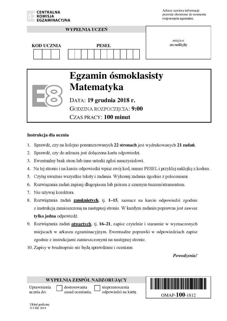 pora na matematykę 7 8 odpowiedzi pdf
