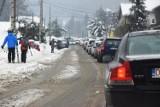 Warunki w Beskidach. Na Biały Krzyż droga jest przejezdna [ZDJĘCIA]