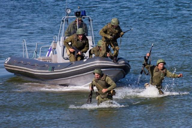Kaliningrad. Manewry wojsk rosyjskich