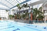 Aquapark Suntago od środka. Największy zadaszony park wodny w Europie