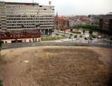 Katowice. Opóźnienie na budowie kompleksu Nova Silesia. Dziura po Hotelu Silesia ciągle niezabudowana