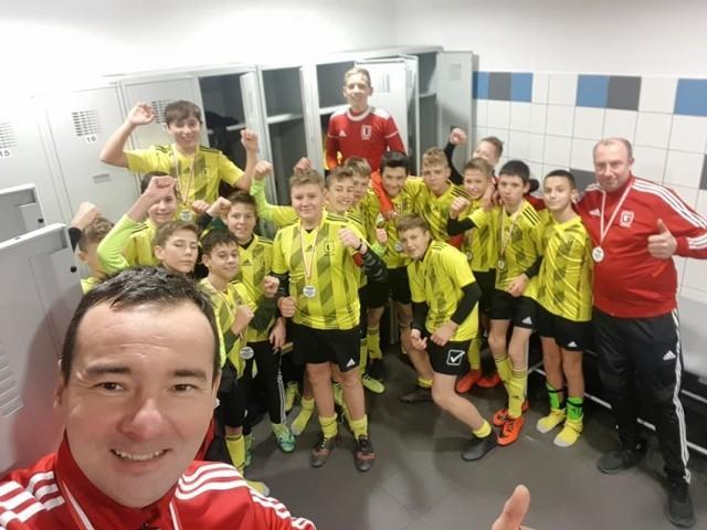 Młodzicy z unisławskiego klubu awansowali do I ligi