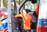 Bytom: kobieta została potrącona przez autobus. Prawdopodobnie wtargnęła na jezdnię