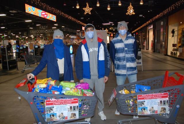 Zagraniczni studenci PWSTE w Jarosławiu organizują pomoc dla schroniska dla bezdomnych zwierząt w Orzechowcach koło Przemyśla.
