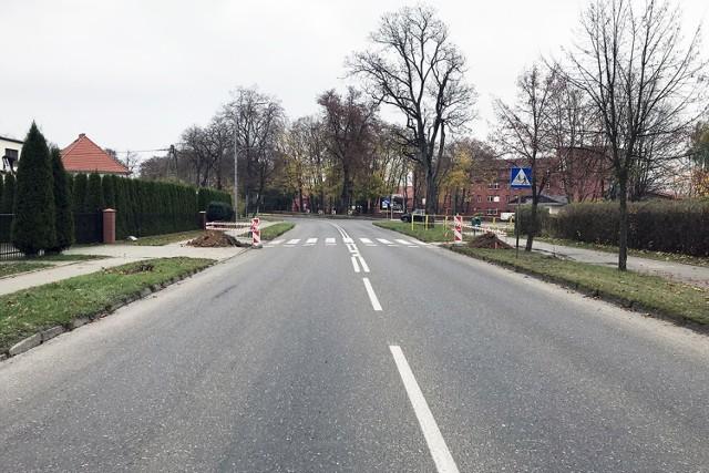 Będzie bezpieczniej na przejściach dla pieszych przy ul. Szczecińskiej w Człuchowie