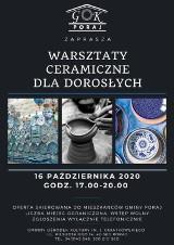 Warsztaty ceramiczne dla dorosłych w gminie Poraj. Można się zapisać