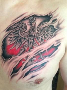 Patriotyczne Tatuaże Oni Naprawdę Kochają Polskę Galeria