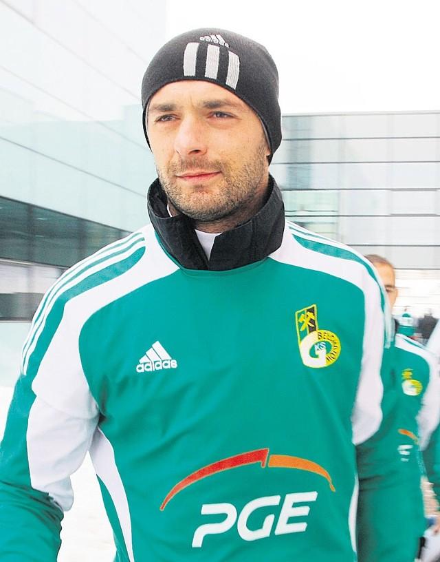 Dariusz Pietrasiak doznał niegroźnego urazu