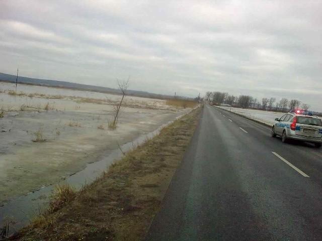 Na drodze Szamocin-Białośliwie wprowadzono ograniczenia ruchu