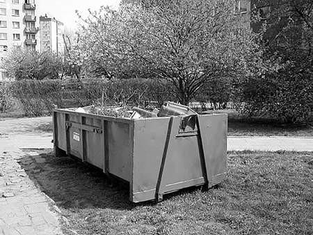 Zbiórka śmieci wielkogabarytowych odbywa się piąty rok. Fot:Olgierd Górny olgierd gÓrny