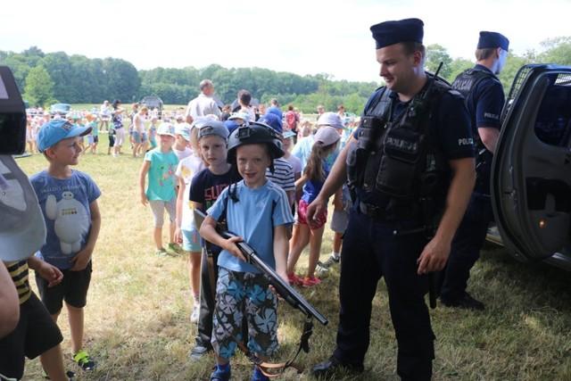 III Festyn Mundurowi Dzieciom Gminy Koszęcin 18.06.2019.