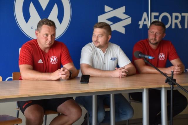 Od lewej: Mariusz Bekas, Maciej Ciesielski, Przemysław Urbaniak.