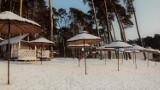 Zobacz, jak wspaniale wygląda plaża w Gołuchowie w zimowej odsłonie ZDJĘCIA