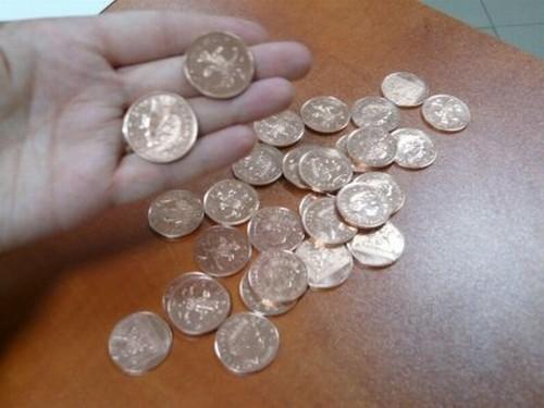 Mieszkańcowi Grudziądza sprzedali fałszywe monety