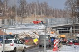 Zimowe prace na budowie obwodnicy Wałbrzycha. Zobaczcie zdjęcia!