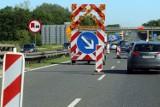 Ograniczenia prędkości, wyłączony z ruchu pas jezdni - utrudnienia na A4!
