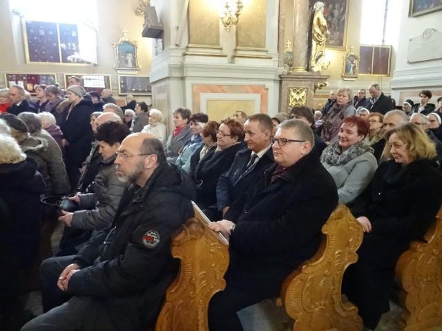 Sołtysi wzięli udział we mszy św. w kaliskiej bazylice