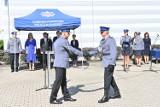 Olkusz. Policjanci obchodzili swoje święto. 55 funkcjonariuszy zostało nominowanych na wyższe stopnie służbowe [ZDJĘCIA]