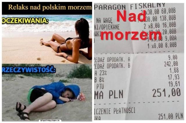 Wakacje 2021 MEMY. Tak Polacy szykują się na urlopy. W góry, czy nad morze?   Zobacz kolejne zdjęcia. Przesuwaj w prawo – naciśnij strzałkę lub przycisk NASTĘPNE