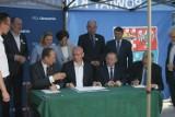 Podpisanie umów na dofinansowania z Funduszu Dróg Samorządowych oraz omówienie spraw budowy obwodnic [ZDJĘCIA + FILM]