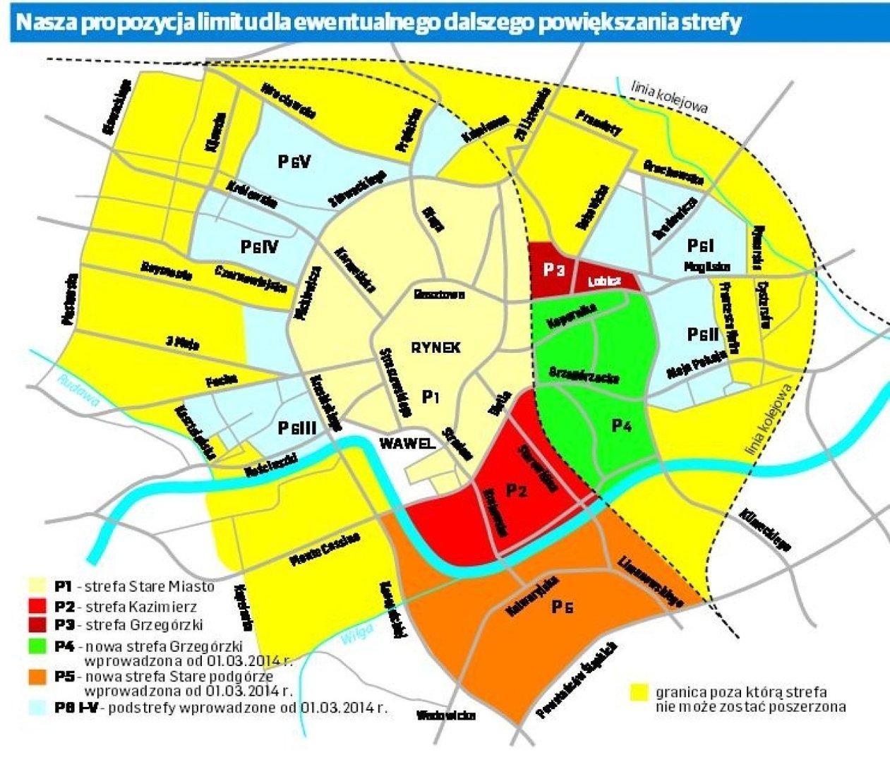 Krakow Strefa Platnego Parkowania Bedzie Jeszcze Wieksza