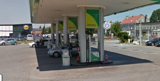 Stacja paliw w Oświęcimiu