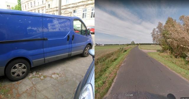 Do zdarzenia doszło w miejscowości Brzekiniec, 3 września 2020. Zdjęcie poglądowy. Kierowca poruszał się najprawdopodobniej Renault Trafic lub Oplem Vivaro koloru niebieskiego z 2002 roku