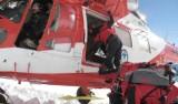 Tatry: Śmierć pod Rysami. Zmarły ześlizgnął się kilkaset metrów po lodzie