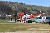 Turysta spadł z Rysów. Koziołkował przez 300 metrów. Miał ogromne szczęście, jest lekko ranny