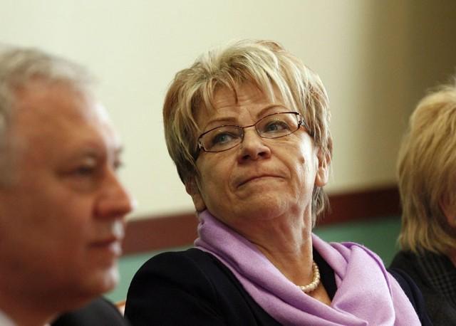 Przewodnicząca rady miejskiej Ewa Szymańska