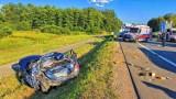 Poważny wypadek na obwodnicy Krakowa. Autostrada w kierunku Katowic była zablokowana