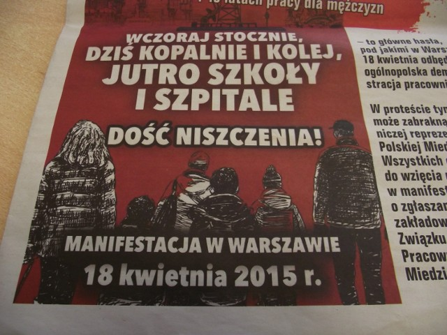 KGHM: Związkowcy jadą do Warszawy