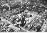 Panoramy Krakowa z lat '20 i '30 ubiegłego stulecia [ARCHIWALNE ZDJĘCIA]