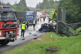 Tragiczny wypadek w Bochni. Nie żyją dwie osoby [ZDJĘCIA, WIDEO]